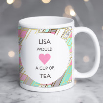 Personalised Love A Cup Of Tea/Coffee Mug