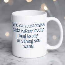 Personalised Mug - Text Only On Both Sides