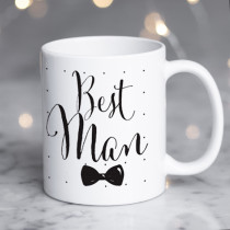 Personalised Best Man Wedding Mug