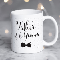 Personalised Father Of The Groom Wedding Mug