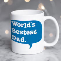 Personalised World's Bestest Dad Mug
