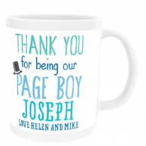 Personalised Page Boy Wedding Gift - Mug