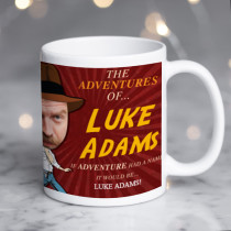 Personalised Indiana Jones Spoof Photo Mug