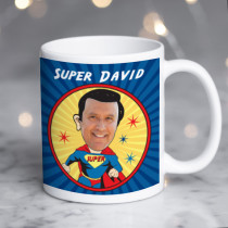 Personalised Superman Spoof Photo Mug