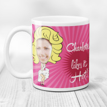 Personalised Marilyn Monroe Spoof Photo Mug