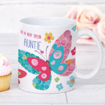 Personalised Itsy Bitsy Butterfly Mug