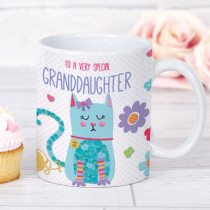 Personalised Itsy Bitsy Cat Mug