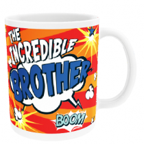 Personalised Brother Comic Book - Mug