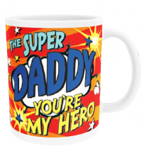 Personalised Daddy Comic Book - Mug