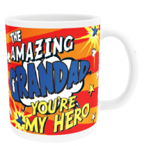 Personalised Grandad Comic Book - Mug