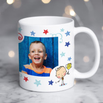 World's Greatest Blue Photo Mug
