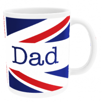 Personalised Union Jack for Father's Day - Mug