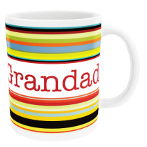 Personalised Style Stripes for Father's Day - Mug