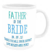 Personalised Father of the Bride or Groom - Mug