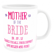 Personalised Mother of the Bride or Groom - Mug