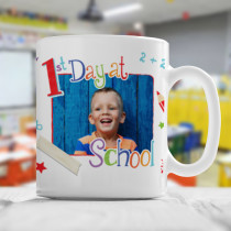 Personalised First Day at School - Mug