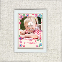 Personalised Fabrique Grandma Photo Frame