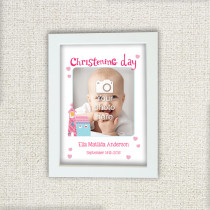 Itsy Bitsy Christening Day Girl - Photo Frame