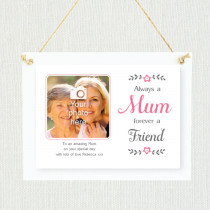 Personalised Sentimental Mum Forever a Friend Photo Frame