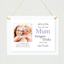 Personalised Sentimental Mum Photo Frame