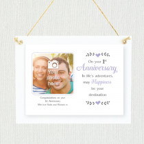 Personalised Sentimental First Wedding Anniversary Photo Frame