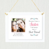 Personalised Sentimental Sister Photo Frame
