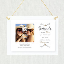 Sentimental Friends Are Like Stars - Personalised Photo Frame