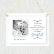 Personalised Sentimental Dad Grandad Photo Frame