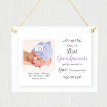 Sentimental Best Grandparents - Personalised Photo Frame