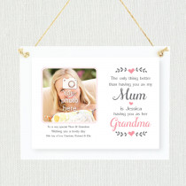 Personalised Sentimental Mum Grandma Photo Frame