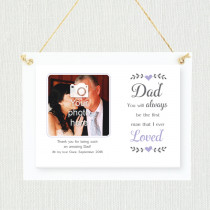 Personalised Sentimental Dad Loved Photo Frame