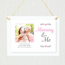 Personalised Sentimental Mummy And Me Photo Frame