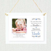 Personalised Sentimental Brother Uncle Photo Frame