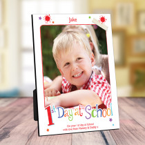 Personalised First Day At School- Photo Frame
