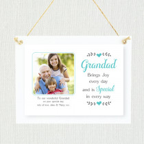 Personalised Sentimental Grandad Photo Frame