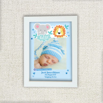 Boy Jungle - Personalised Photo Frame