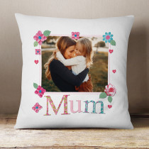Personalised Fabrique Mum Photo Cushion