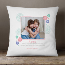 Personalised Arms That Hold Photo Cushion