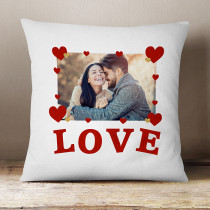 Personalised Love Photo Cushion