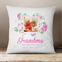 Personalised Grandma Photo Cushion