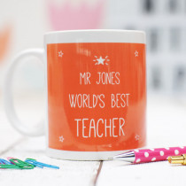 Best Teacher Star - Ceramic Mug