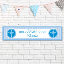 Blue Communion - Personalised Banner