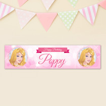 Personalised Disney Princess Aurora  Banner