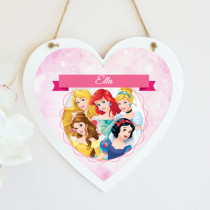 Disney Princesses - Hanging Heart