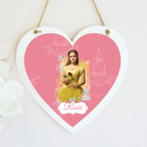 Beauty And The Beast Belle - Hanging Heart