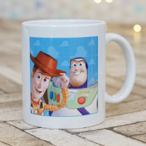 Disney Pixar Toy Story Buzz And Woody - Ceramic Mug