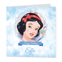 Disney Princess Snow White - Luxury Greeting Card