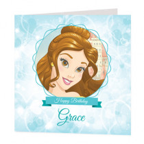 Disney Princess Belle - Luxury Greeting Card