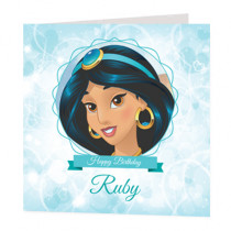Disney Princess Jasmine - Luxury Greeting Card