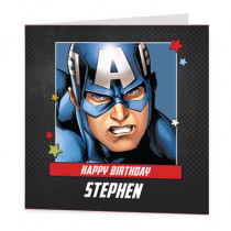 Marvel Avengers America - Luxury Greeting Card